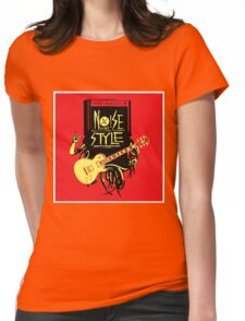 noise music is my style Womens Fitted T-Shirt