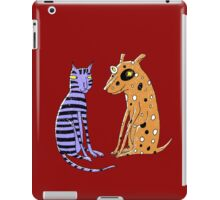 Opposites Attract iPad Case/Skin