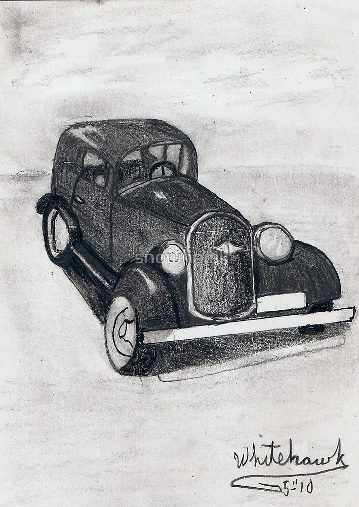 Shape of old Cars by snowhawk
