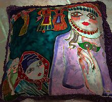 pillow by tulay cakir