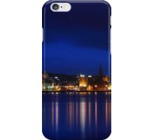 Night on the river iPhone Case/Skin