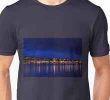 Night on the river Unisex T-Shirt