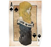 Ace of Spades: Emma Swan Poster