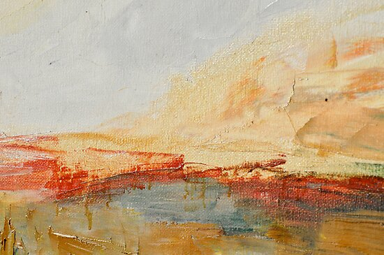 Zoom to Red house on the lake by Stella  Shube As