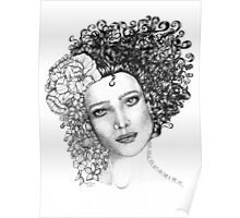 Girl With a Curl Poster