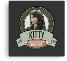Brownstone Brewery: Kitty Winters Hard Cider Canvas Print