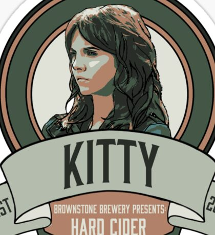 Brownstone Brewery: Kitty Winters Hard Cider Sticker