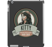 Brownstone Brewery: Kitty Winters Hard Cider iPad Case/Skin