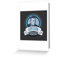 Brownstone Brewery: Thomas Gregson Imperial Stout Greeting Card