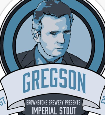 Brownstone Brewery: Thomas Gregson Imperial Stout Sticker