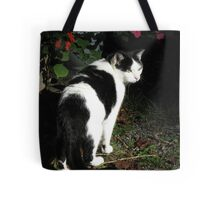 On Her Way To Work One Morning Tote Bag