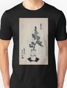 Yenshu ryu ikebana hiak bin no zu shiki konzatsu Flower arrangement in the Enshu style V2 1897 0041 T-Shirt
