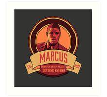 Brownstone Brewery: Marcus Bell Oktoberfestbier Art Print