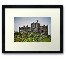 Rock of Cashel, Ireland (Carraig Phadraig) - oil painting Framed Print
