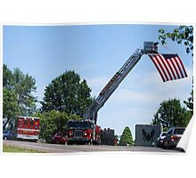 Funeral for a Fireman Poster