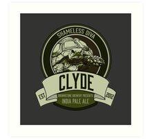 Brownstone Brewery: Clyde 'Shameless Diva' IPA Art Print