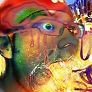 Self Portait Fire Breath by Christopher Nicola