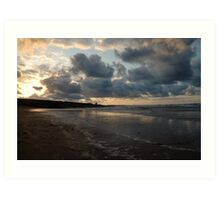 Northumberland Beach Art Print