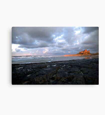 Northumberland Castle Canvas Print