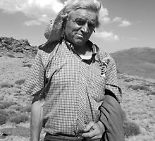 old man by Michael Bateman