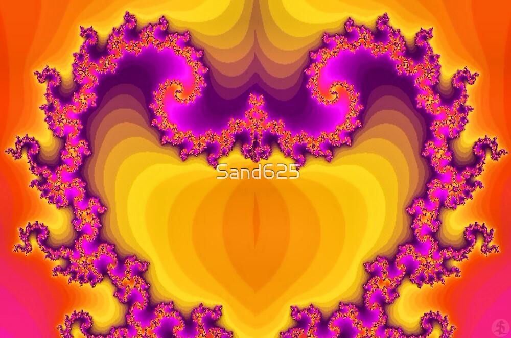 Fractal Heart by © Sandra Lock