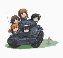 Girls und Panzer by realglorix