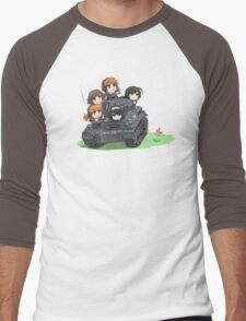 Girls und Panzer Men's Baseball ¾ T-Shirt
