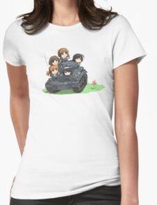 Girls und Panzer Womens Fitted T-Shirt