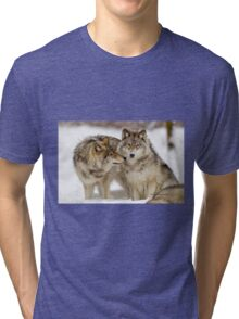 Love you sweetie... - Timber Wolves Tri-blend T-Shirt