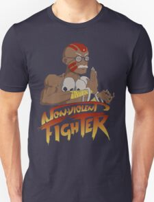 Non-Violent Fighter (dark color shirt) T-Shirt