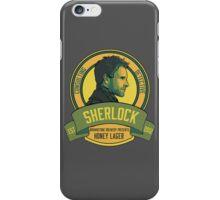 Brownstone Brewery: Sherlock Holmes Honey Lager iPhone Case/Skin