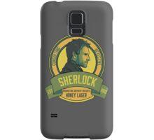 Brownstone Brewery: Sherlock Holmes Honey Lager Samsung Galaxy Case/Skin