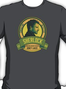 Brownstone Brewery: Sherlock Holmes Honey Lager T-Shirt