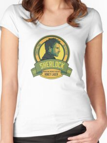 Brownstone Brewery: Sherlock Holmes Honey Lager Women's Fitted Scoop T-Shirt
