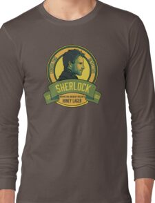 Brownstone Brewery: Sherlock Holmes Honey Lager Long Sleeve T-Shirt