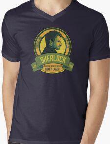 Brownstone Brewery: Sherlock Holmes Honey Lager Mens V-Neck T-Shirt