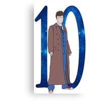 Tenth Doctor. Canvas Print