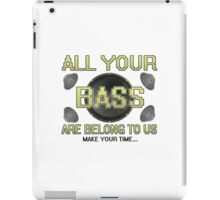 All Your Base iPad Case/Skin