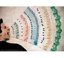 Money Talks Photographic Print