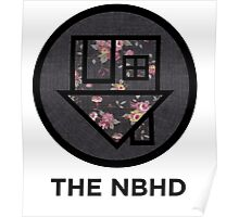 The NBHD - Dark Floral Print Poster
