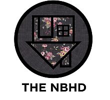 The NBHD - Dark Floral Print Photographic Print