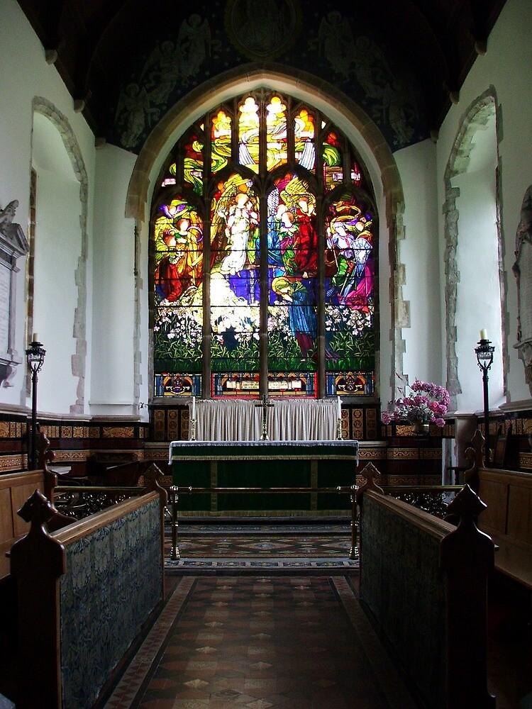 St Andrews Church, Wickhambreaux. by Dave Godden