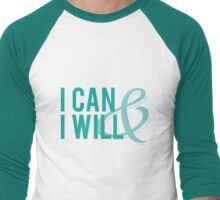 I Can & I Will Men's Baseball ¾ T-Shirt