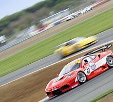 no87 Ferrari by Ben Luck