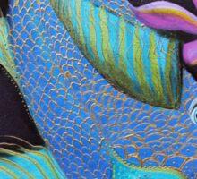 Dragon Fish Sticker