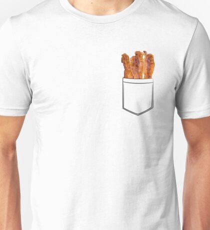 Bacon Pocket Unisex T-Shirt