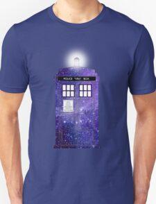 Shiny Police Box. Unisex T-Shirt