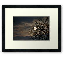 Moon shots Framed Print