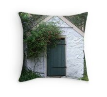 The Spring House Throw Pillow