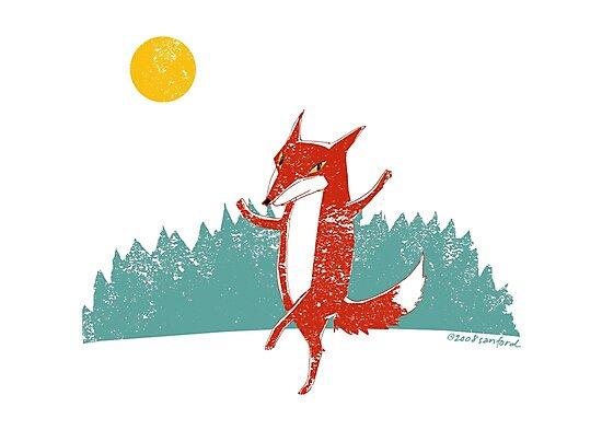 Dancing Fox by SusanSanford